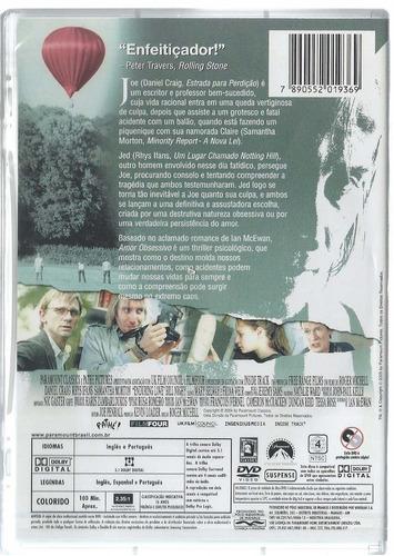 dvd - amor obsessivo daniel craig e samantha morton