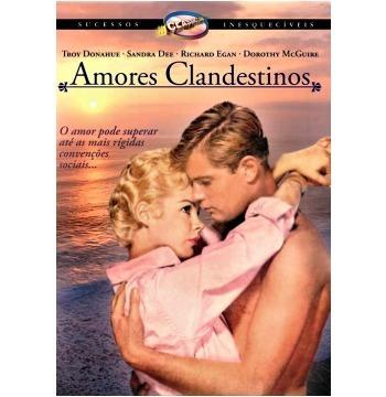 dvd amores clandestinos, sandra dee, troy donahue  1959