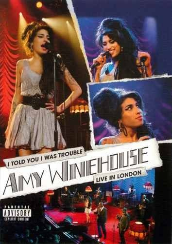 dvd amy winehouse - i told you i was trouble live in lon