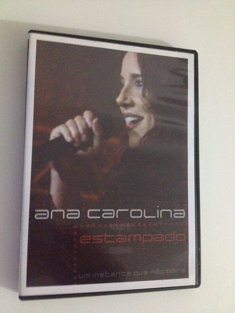 dvd ana carolina estampado ao vivo