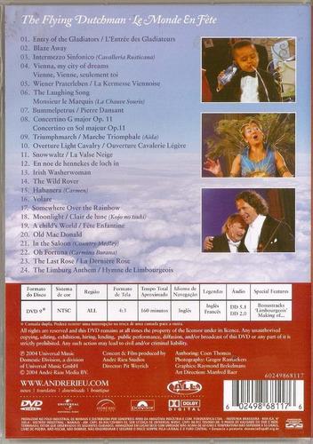 dvd andré rieu - the flying dutchmam