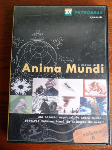 dvd anima mundi - filmes animação brasil (vol. 2)
