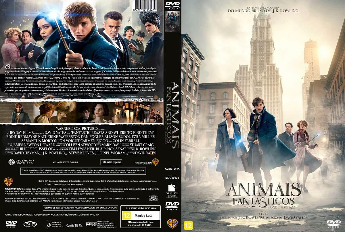 Dvd Animais Fantasticos E Onde Habitam Dublado R 13 99 Em