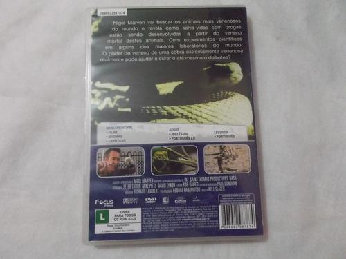 dvd animais letais  nigel marven  com encarte e1b1