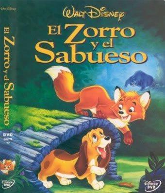 dvd anime disney los clasicos el zorro y el sabueso tampico
