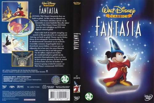 dvd anime disney los clasicos mickey mouse fantasia tampico