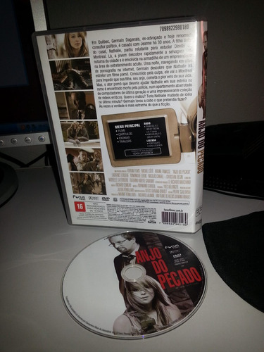 dvd anjo do pecado - filme original