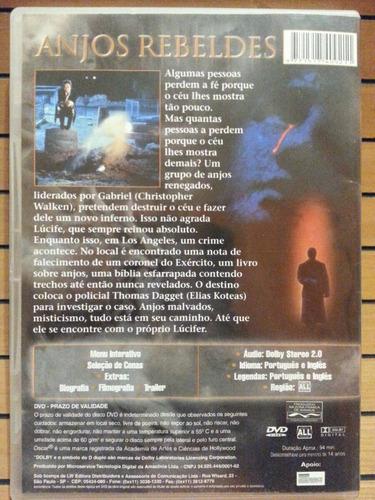 dvd anjos rebeldes the prophecy original otimo estado