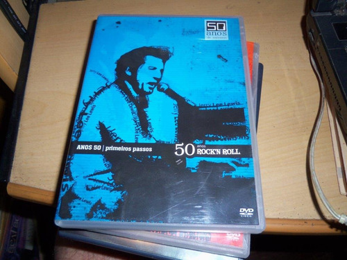 dvd   anos  50  primeiros passos rock -   est   d
