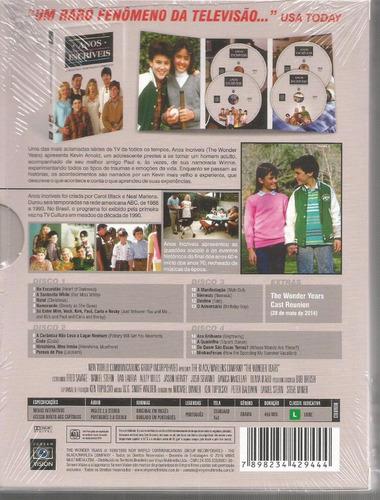 dvd anos incriveis 2ª temporada vinyx - bonellihq cx389 g18
