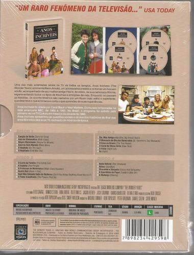 dvd anos incriveis 3ª temporada vinyx - bonellihq a18