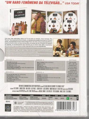 dvd anos incriveis 4ª temporada - vinyx bonellihq l19