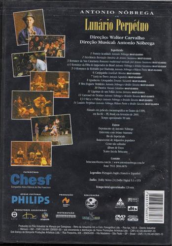 dvd antonio nóbrega - lunário perpétuo