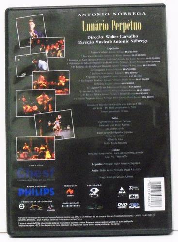 dvd - antonio nóbrega lunário perpétuo