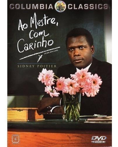 dvd ao mestre com carinho, com sidney poitier  1966 +