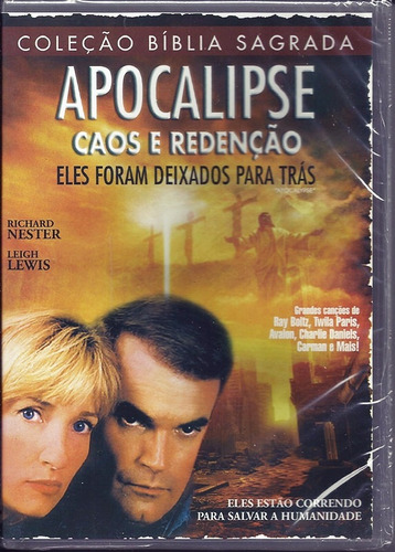 dvd apocalipse caos e redenção