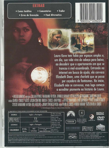 dvd após a morte - ghost watcher - jillian byrnes - original