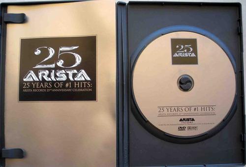 dvd - arista records - santana annie lennox aretha franklin