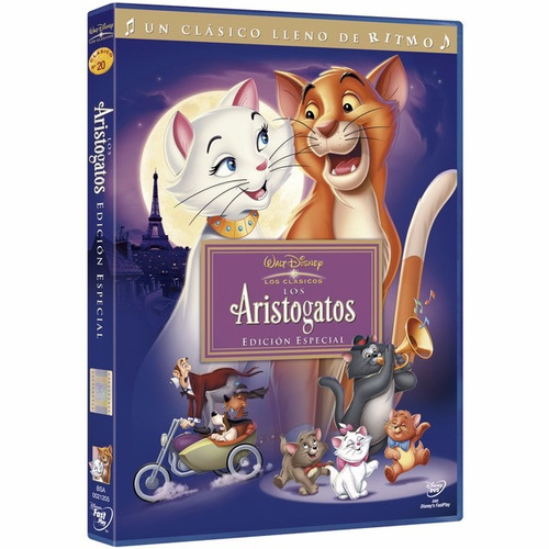 dvd aristogatos