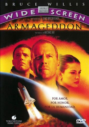 dvd armageddon nuevo cerrado original sm