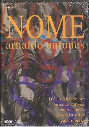 dvd arnaldo antunes - nome - edgard scandurra airto lindsay