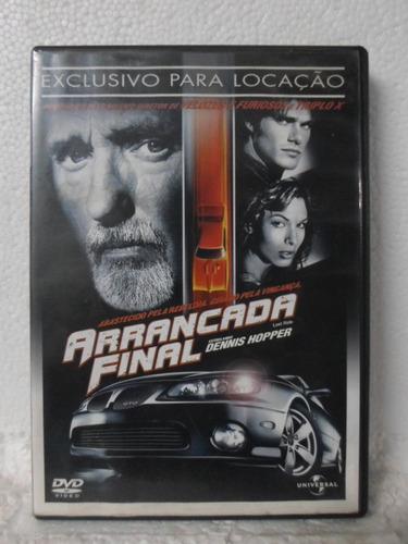 dvd arrancada final - original