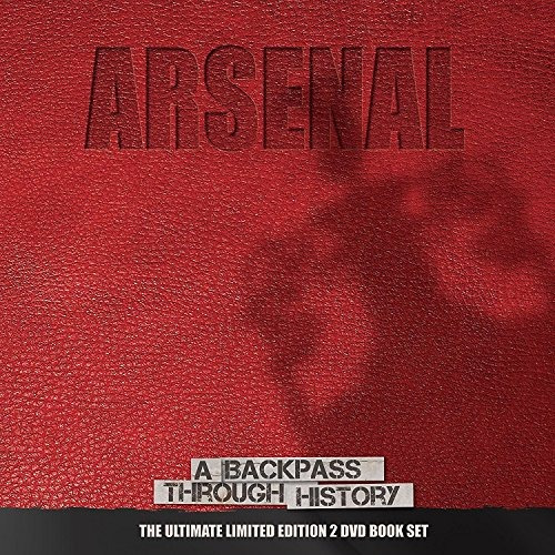 dvd : arsenal backpass 2017 (with book, united kingdom -...
