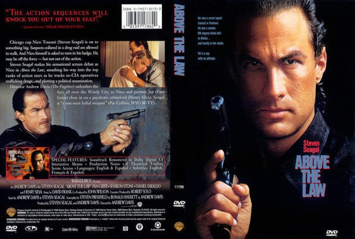 dvd arte marcial steven seagal nico above the law tampico