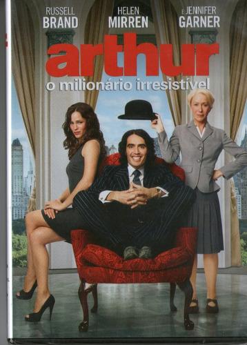 dvd arthur - o milionário irresistível - novo***