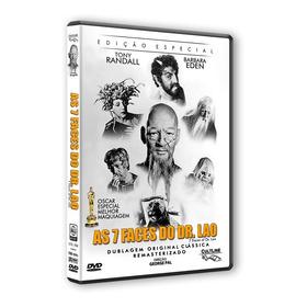 Dvd As 7 Faces Do Dr. Lao - Tony Randall - Original Lacrado