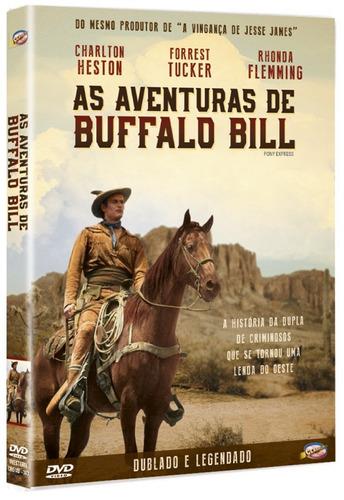 dvd as aventuras de buffalo bill classicline - bonellihq l19