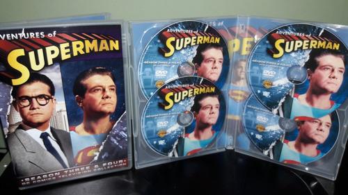 dvd as aventuras de superman ( 6 temporadas ) george reeves