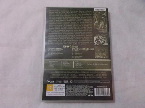 dvd as batalhas da 1 guerra mundial inferno sem fim