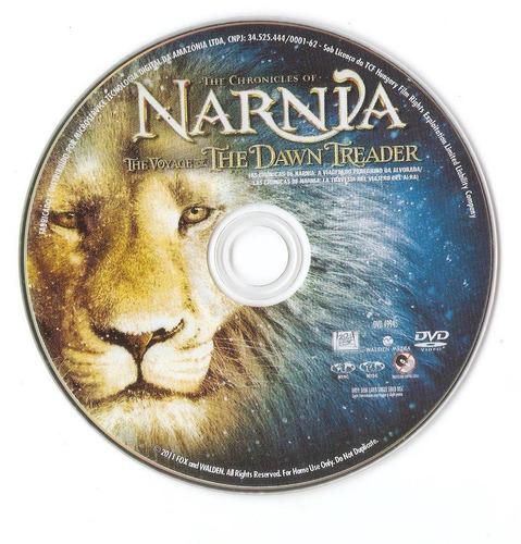 dvd - as crônicas de nárnia - a viagem do peregrino da...