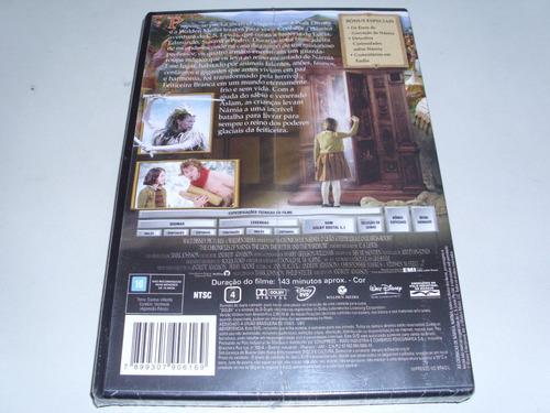 dvd as cronicas de narnia o leão a feiticeira o guarda-roupa