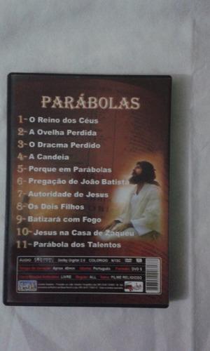 dvd   as parabolas de jesus vol 1