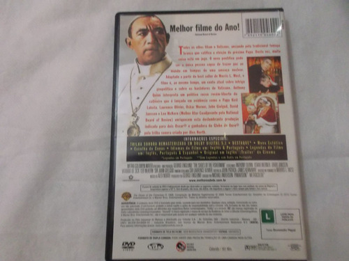 dvd  as sandalias do pescador anthony quinn