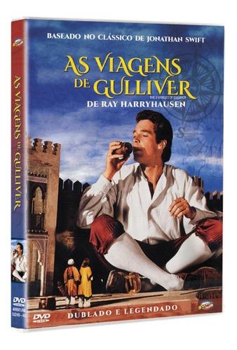 dvd as viagens de gulliver, base jonathan swift    1960 +