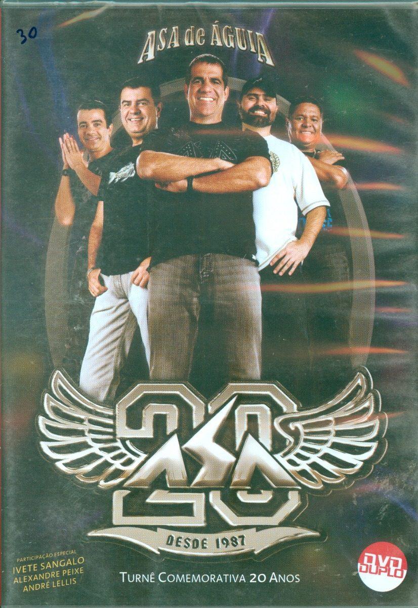f7de2a5085 dvd asa de águia - 20 anos (especial duplo lacrado). Carregando zoom.