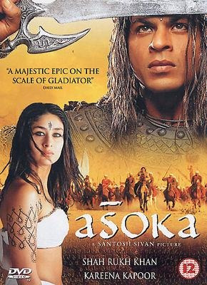 dvd asoka - índia, bollywood, importado