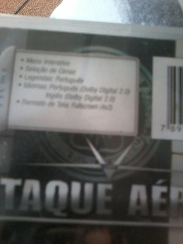 dvd ataque aéreo - malcolm mcdowell