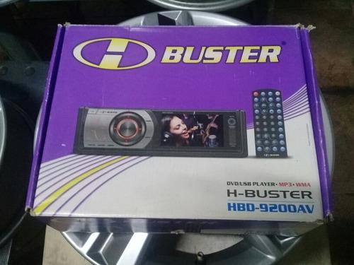 dvd automotivo h-buster hbd-9200av