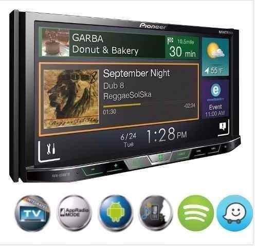 dvd automotivo pioneer avh 598tv 598tv 7 com câmera ré 2 din