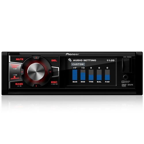 dvd automotivo pioneer dvh-7880av am/fm mp3 usb auxiliar rca