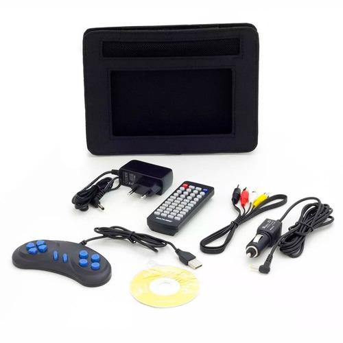 dvd automotivo portatil multilaser giratório c/ usb e cartão