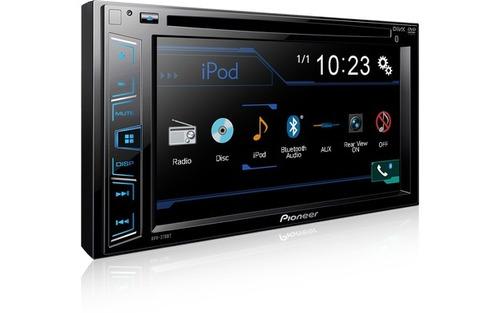 dvd automototivo pioneer avh-298bt 2din bluetooth aux usb
