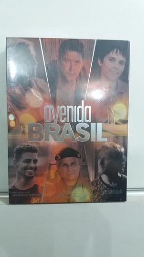dvd avenida brasil - novela- 12 dvd's- original novo lacrado