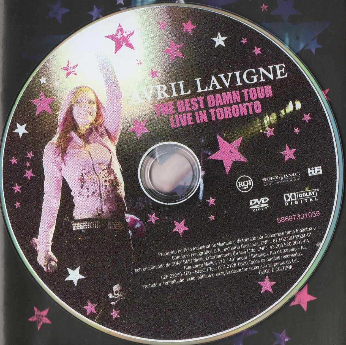 The best damn thing avril lavigne live