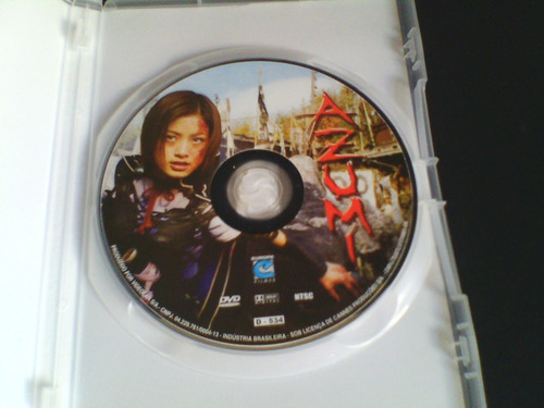 dvd azumi - baseado no game de playstation 2