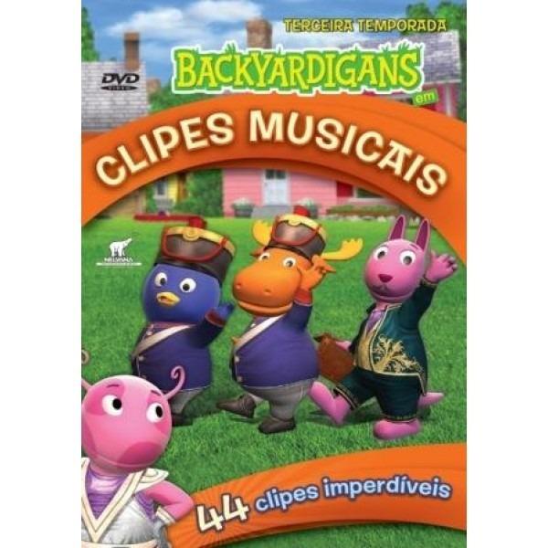 dvd do backyardigans clipes musicais